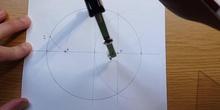 Drawing a star pentagon - Dibuja un pentágono estrellado