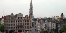 Monte de las Artes, vista del centro de Bruselas, Bélgica