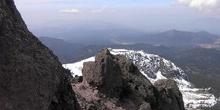 Faldas del volcán Nevado de Toluca