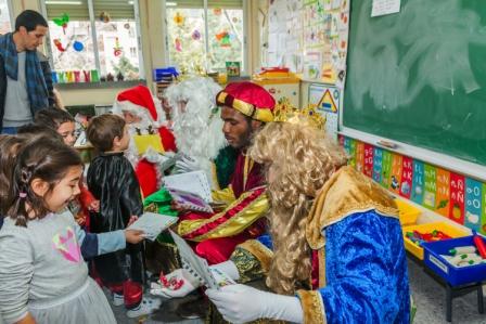 Los RRMM y Papá Noel en INF 5A 7
