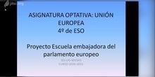 VIDEO EXPLICATIVO DE LA ASIGNATURA UNIÓN EUROPEA EN EL IES LAS MUSAS, 4 DE ESO