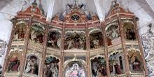 Detalle retablo - Trujillo, Cáceres