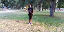 Gymnastics routine 2ESO
