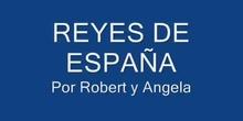 LOS REYES DE ESPAÑA. ÁNGELA Y ROBERT