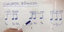 Grupos rítmicos nuevos