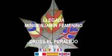 CROSS EL PERALEJO LLEGADA MINIBENJAMÍN FEMENINO