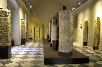 Sala de arquitectura decorativa de época visigoda - Badajoz