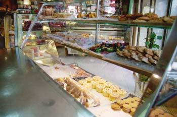 Vitrina de pastelería