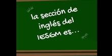 Sección de inglés en el IESGM