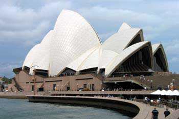 Entrada a la Opera House, Synney, Australia