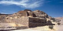 Plataformas habitacionales del conjunto Arqueológico de La Quema