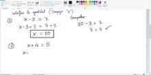 Reesolución Ecuación Sencilla 2