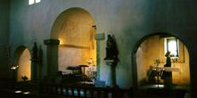 ábside de la iglesia de Santa María de Bendones, Oviedo, Princip