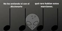 Los Marcianos (musicograma y percusión)