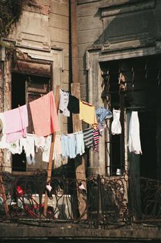 Casa ocupada por personas sin techo, Sao Paulo, Brasil