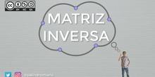 Matrices 7 - Matriz inversa