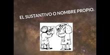 PRIMARIA - EL SUSTANTIVO PROPIO - P. T. - FORMACIÓN
