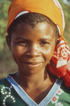 Niña mozambiqueña, Nacala, Mozambique