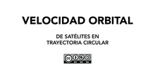 Gravitación - Velocidad orbital en trayectoria circular