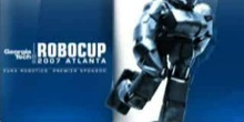 RoboCup Junior 2007 - Soccer - Complubot vs Kryptonite