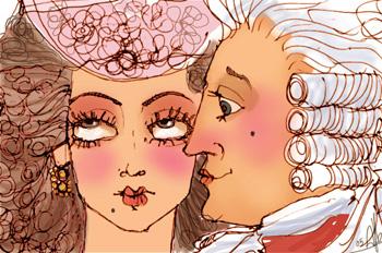 La lira de marfil: A unos lindos ojuelos