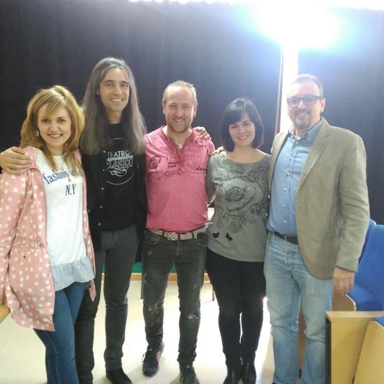 Álvaro Tato - Encuentro con los actores del IES Nicolás Copérnico 6