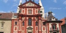 Iglesia en el Castillo de Praga