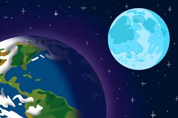 De la Tierra a la Luna: La Luna