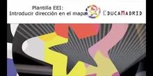Plantilla EEI: Modificar dirección del mapa