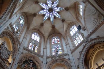 Cúpula gótica de la Catedral de Burgos, Castilla y León