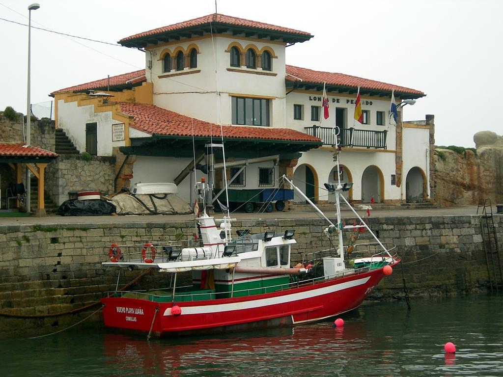 Puerto de Comillas. Lonja de pescado
