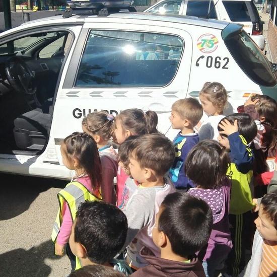 Charlas de la Guardia Civil para Infantil. 3