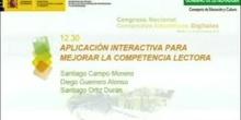 Aplicación interactiva para mejorar la competencia lectora.