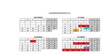 Calendario SIES HUMANES EN CUBAS 2017-18