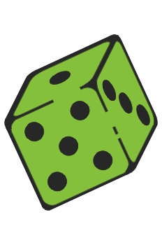 Dado verde