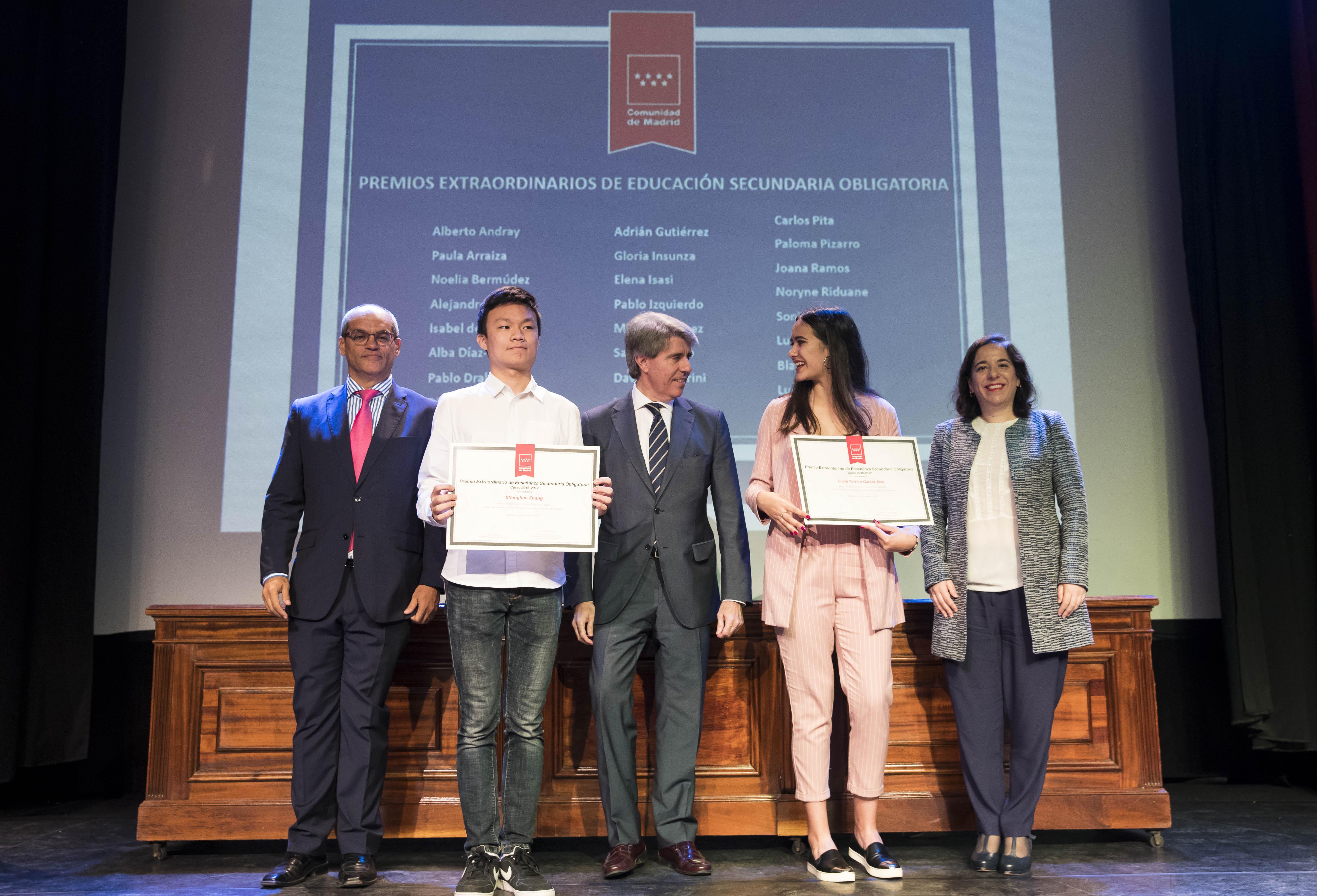 Entrega de los premios extraordinarios correspondientes al curso 2016/2017 4