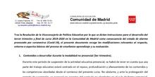 Acuerdos de Evaluación por COVID 19