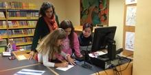 2019_Quinto B visita la biblioteca municipal_CEIP FDLR_Las Rozas 1