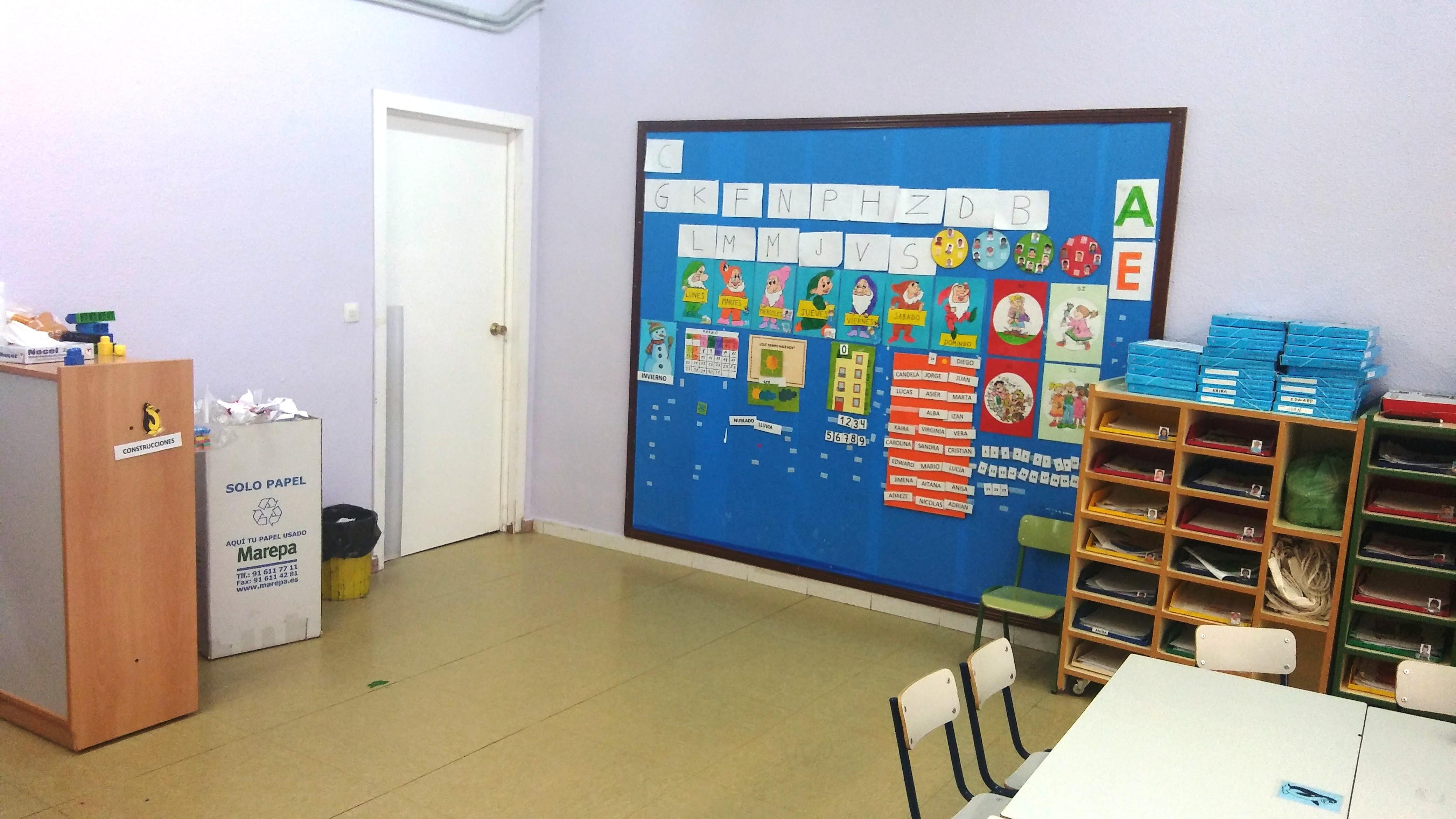 Aulas de Infantil 4
