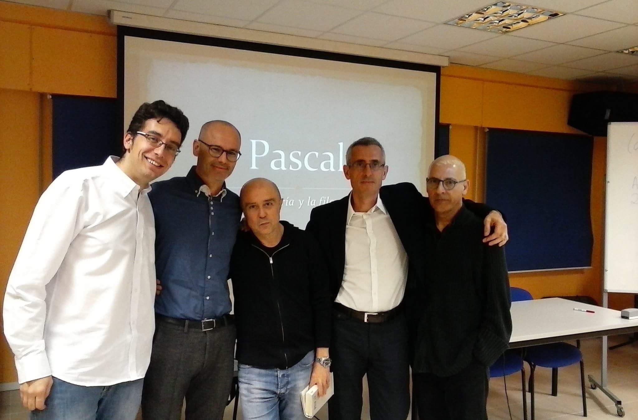 """Ponentes del curso """"Pascal"""""""