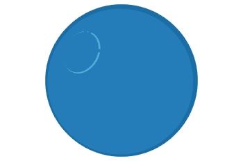 Bola azul