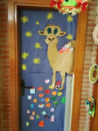2017 12 18 decoracion puertas navidad 14 mediateca de for Puertas decoradas navidad colegio