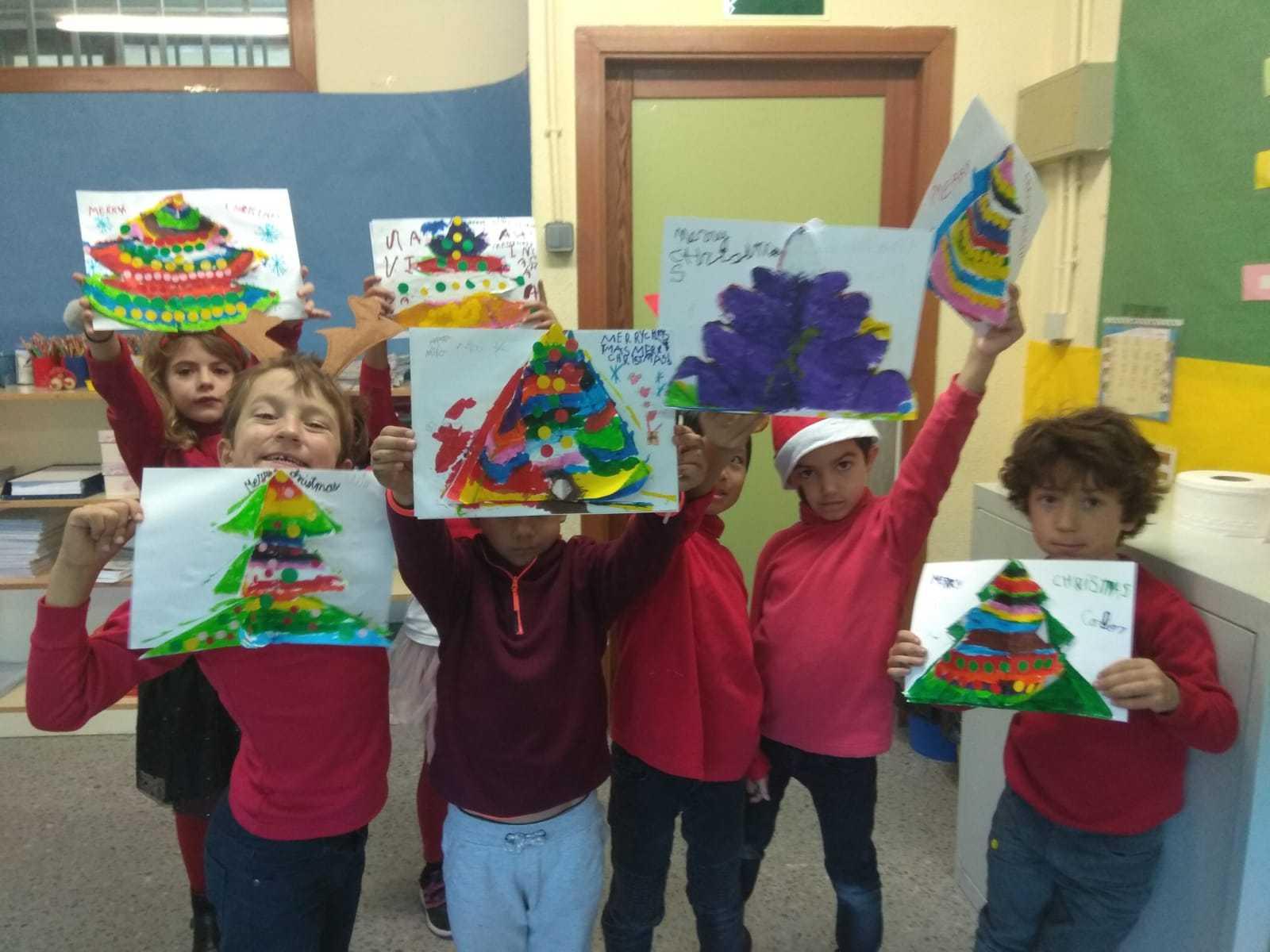 2018_12_1ºC despide el primer trimestre con alegría y manualidades_CEIP FDLR_Las Rozas 10
