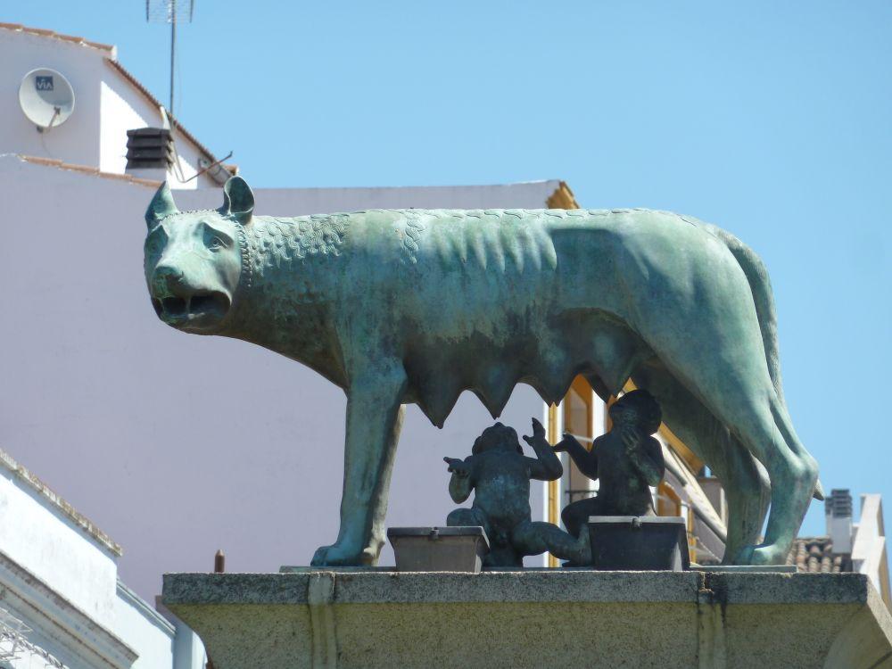 Loba capitolina, Mérida (Badajoz)