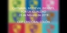 Carnaval Medieval. Educación Infantil. 1ª parte