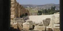 Restos arqueológicos, Jarash, Jordania