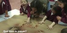 INFANTIL 5AÑOS A- TALLER CUEVAS Y AERÓGRAFO-ACTIVIDAD