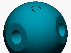 Modelo atómico de Carbono