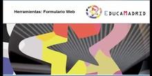 Herramientas: Formulario Web