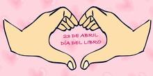 Feliz día del Libro Ed. Infantil CP Pedro Brimonis